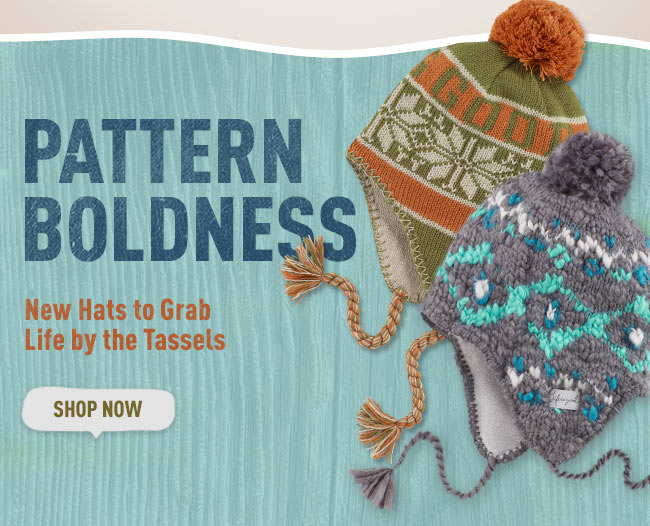 New Hats to Grab Life by the Tassels