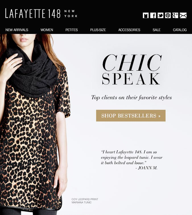 Chic Speak: Favorite Styles from Top Clients