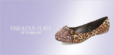 Footwear at 80% off