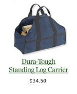 Dura-Tough Standing Log Carrier, $34.50
