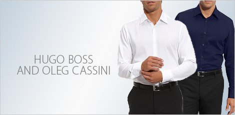 hugo Boss & Oleg cassini