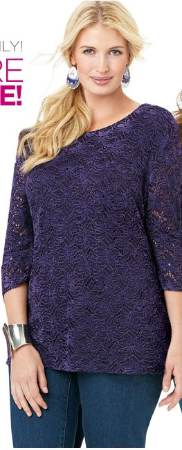 Guinevere Lace Top