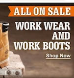 Shop Workwear and Work Boots