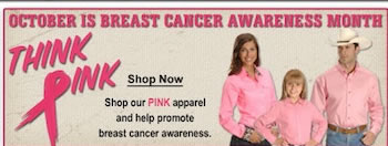 Shop Think Pink