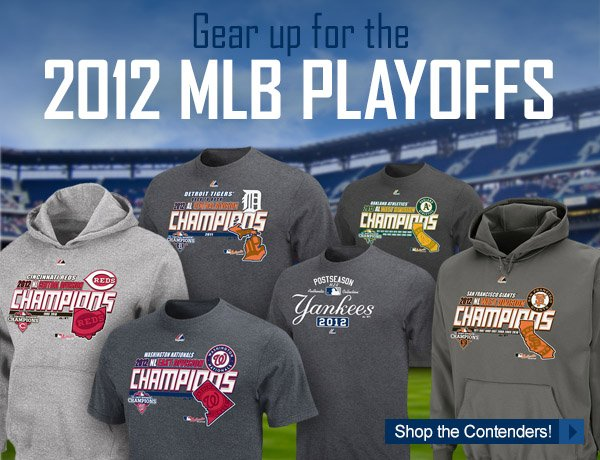 Gear up for the 2012 MLB Playoffs