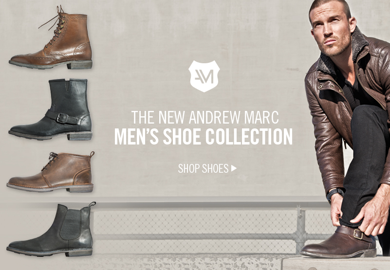 The New Andrew Marc Mens Shoe Collection