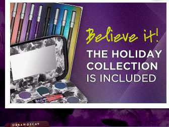 Believe it!  The Holiday Collection Is Included