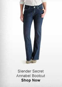 SLENDER SECRET ANNABEL BOOTCUT SHOP NOW
