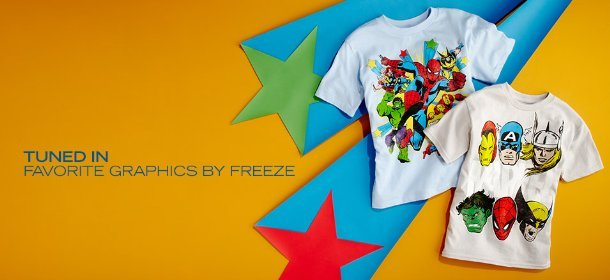 TUNED IN:  FAVORITE GRAPHICS BY FREEZE, Event Ends October 12, 9:00 AM PT >