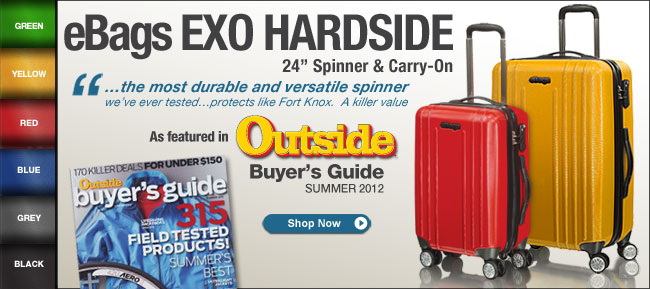 eBags EXO Hardside Spinners