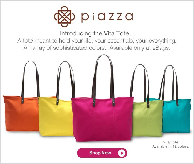 Introducing the Vita Tote. A tote meant to hold your life, your essentials, your everything. Available in 12 colors. Shop Now