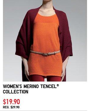 Women's Merino Tencel® Collection $19.90  REG. $29.90