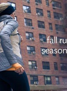 fall running season is here
