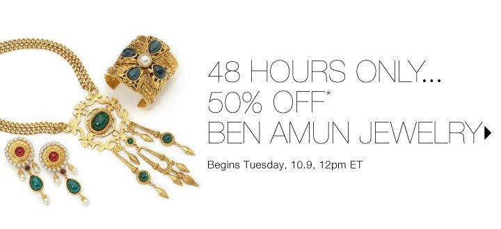 50% Off* Ben Amun...Shop now