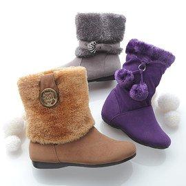 Fashion Underfoot: Girls' Boots