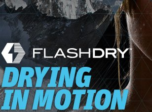 FLASHDRY DRYING IN MOTION