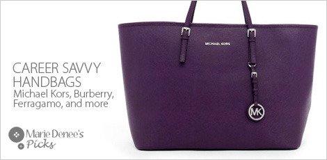Career Saavy handbags