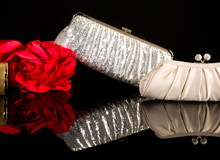 RSVP-Ready Handbags Glam Evening Clutches