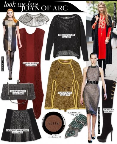 Look We Love: Joan of Arc