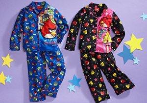 Angry Birds Sleepwear for Kids