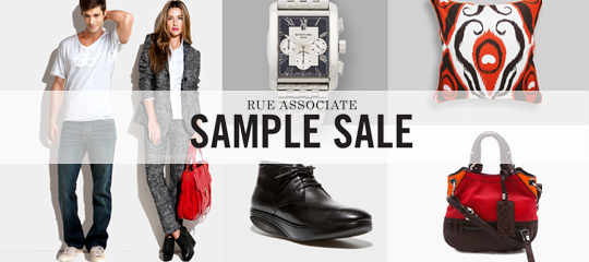 Rue Associate Sample Sale