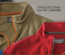 Firehole Grid Fleece | was $69 now $49