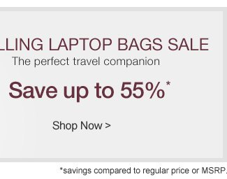 Rolling Laptop Bags Sale | Save up to 55%* | Shop Now