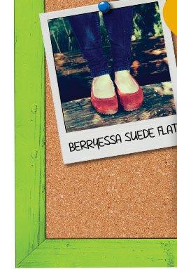 Berryessa Suede Flats