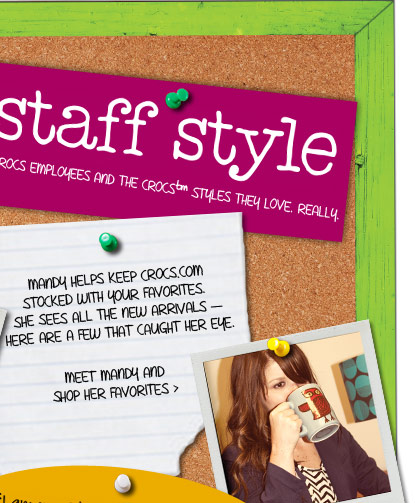 staff syle - meet mandy and shop her favorites