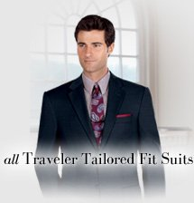 all Traveler Tailored Fit Suits