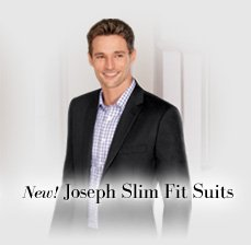 New! Joseph Slim Fit Suits