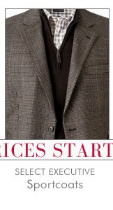 Select Executive Sportcoats - Starting at $25 USD
