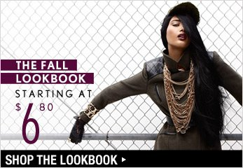 The Fall Lookbook Starting at $6.80 - Shop Now