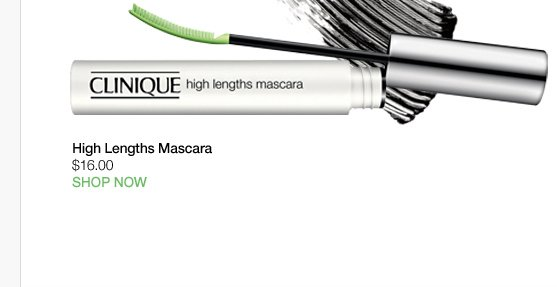 High Lengths Mascara $16.00 SHOP NOW »