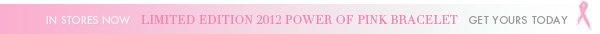2012 Power of Pink Bracelet