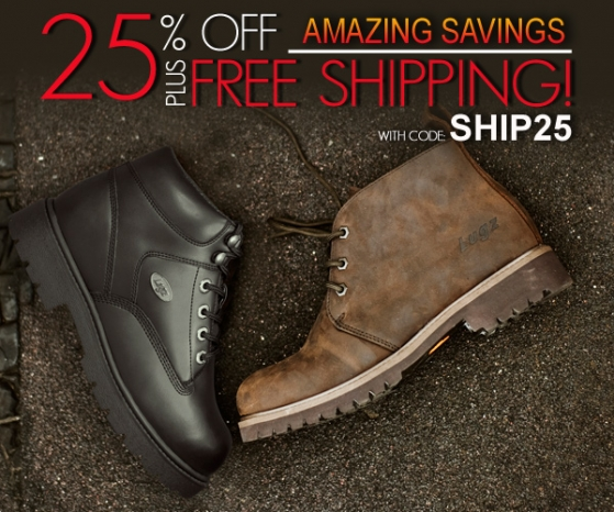 Amazing Savings: Get 25% Off + Free Shipping