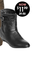 Ankle Demi Wedge Boot
