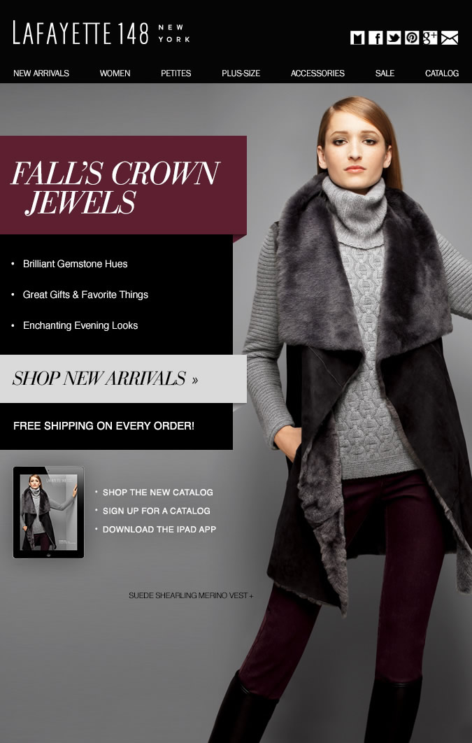 NEW Arrivals: Fall's Crown Jewels