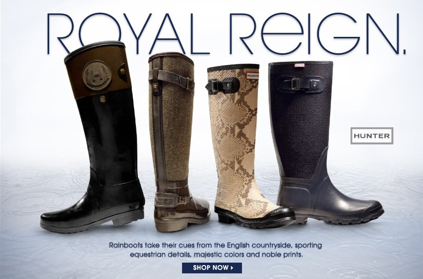 ROYAL REIGN. SHOP NOW