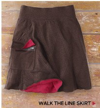Walk The Line Skirt >
