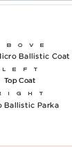 Iconic Micro Ballistic Coat