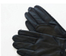 Men's Leather Belted Glove