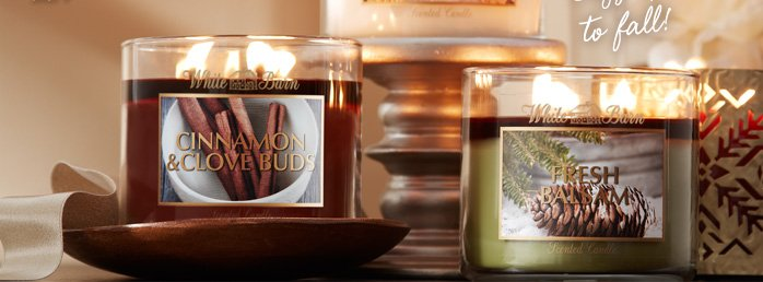 3–Wick Candles – 2 for $20