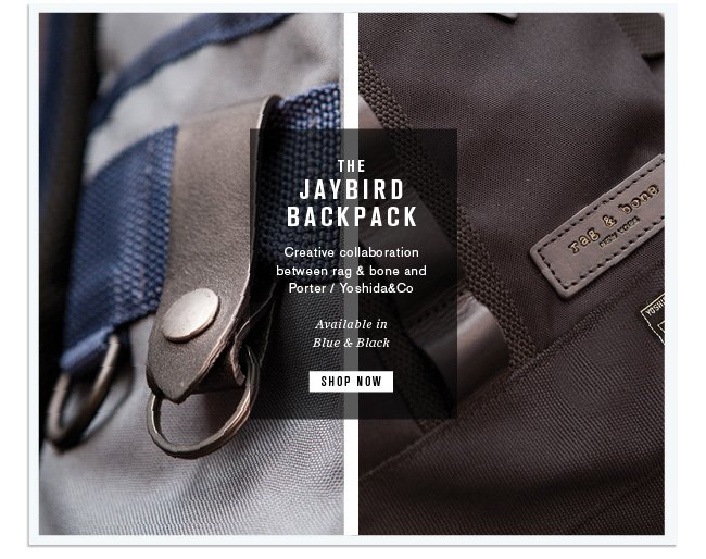 The Limited Edition Jaybird Backpack