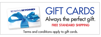 GIFT CARDS Always the perfect gift. FREE STANDARD SHIPPING Terms and conditions apply to gift cards.