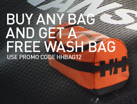 Buy a bag - Get washbag for free - Helly Hansen