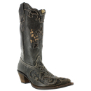 Corral Women's Vintage Lizard Overlay Western Boots