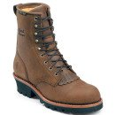 Chippewa Women's Waterproof Insulated Steel Toe Logger Boots