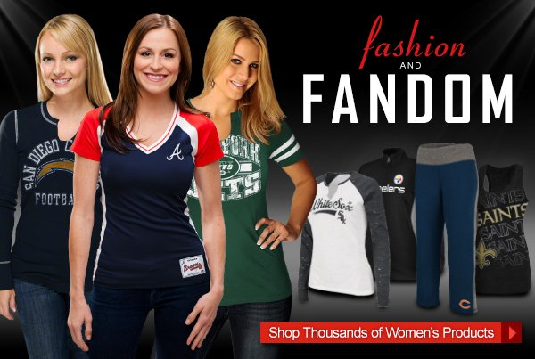 Fashion and Fandom. Shop Women's Products.
