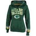 Green Bay Packers Green Women's Pre-Season Favorite II Hooded Sweatshirt